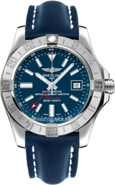 Breitling Avenger II GMT Mens watch, model number - a3239011/c872-3ld, discount price of £2,846.00 from The Watch Source