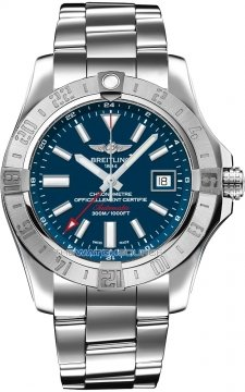 Breitling Avenger II GMT Mens watch, model number - a3239011/c872-ss3, discount price of £2,760.00 from The Watch Source