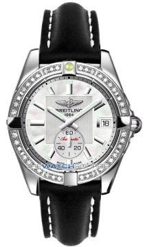 Breitling Galactic 36 Automatic Midsize watch, model number - a3733053/a716-1ld, discount price of £6,392.00 from The Watch Source