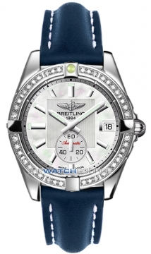 Breitling Galactic 36 Automatic Midsize watch, model number - a3733053/a716-3lt, discount price of £6,230.00 from The Watch Source