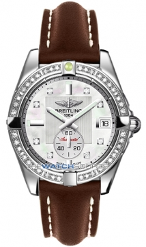 Breitling Galactic 36 Automatic Midsize watch, model number - a3733053/a717-2ld, discount price of £6,180.00 from The Watch Source