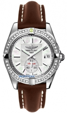 Breitling Galactic 36 Automatic Midsize watch, model number - a3733053/a716-2lt, discount price of £5,916.00 from The Watch Source