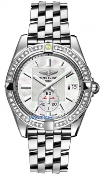 Breitling Galactic 36 Automatic Midsize watch, model number - a3733053/a716-ss, discount price of £6,540.00 from The Watch Source