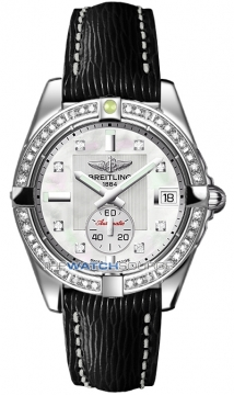 Breitling Galactic 36 Automatic Midsize watch, model number - a3733053/a717-1lts, discount price of £6,030.00 from The Watch Source