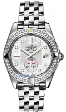 Breitling Galactic 36 Automatic Midsize watch, model number - a3733053/a717-ss, discount price of £6,820.00 from The Watch Source