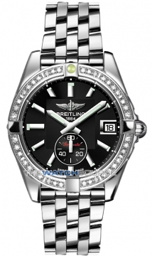 Breitling Galactic 36 Automatic Midsize watch, model number - a3733053/ba33-ss, discount price of £6,200.00 from The Watch Source