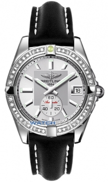Breitling Galactic 36 Automatic Midsize watch, model number - a3733053/g706-1lt, discount price of £5,430.00 from The Watch Source