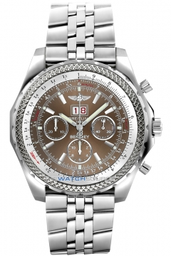Breitling Bentley 6.75 Speed Mens watch, model number - a4436412/q569-ss, discount price of £6,160.00 from The Watch Source