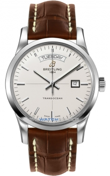 Breitling Transocean Day Date Mens watch, model number - a4531012/g751-2ct, discount price of £3,650.00 from The Watch Source