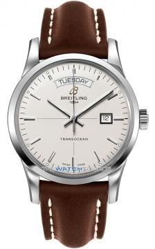 Breitling Transocean Day Date Mens watch, model number - a4531012/g751-2lt, discount price of £3,400.00 from The Watch Source