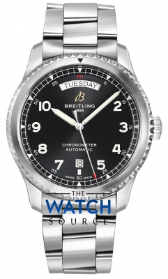 Breitling Aviator 8 Automatic Day Date 41 a45330101b1a1 watch