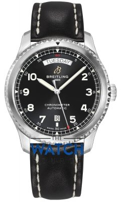 Breitling Aviator 8 Automatic Day Date 41 a45330101b1x1 watch