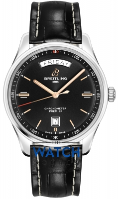 Breitling Premier Automatic Day Date 40 a45340241b1p2 watch
