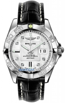 Breitling Galactic 41 Mens watch, model number - a49350L2/a702-1ct, discount price of £3,700.00 from The Watch Source