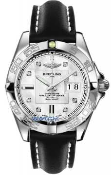 Breitling Galactic 41 Mens watch, model number - a49350L2/a702-1ld, discount price of £3,620.00 from The Watch Source