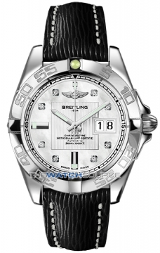 Breitling Galactic 41 Mens watch, model number - a49350L2/a702-1lts, discount price of £3,723.00 from The Watch Source