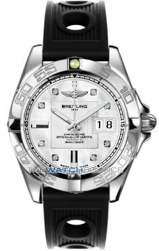 Breitling Galactic 41 Mens watch, model number - a49350L2/a702-1or, discount price of £3,620.00 from The Watch Source