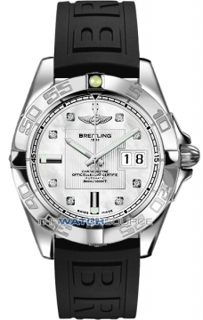 Breitling Galactic 41 Mens watch, model number - a49350L2/a702-1rt, discount price of £3,410.00 from The Watch Source