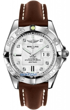 Breitling Galactic 41 Mens watch, model number - a49350L2/a702-2ld, discount price of £3,620.00 from The Watch Source