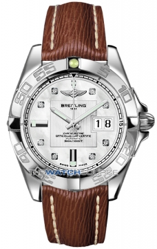 Breitling Galactic 41 Mens watch, model number - a49350L2/a702-2lts, discount price of £3,440.00 from The Watch Source
