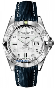 Breitling Galactic 41 Mens watch, model number - a49350L2/a702-3lts, discount price of £3,440.00 from The Watch Source