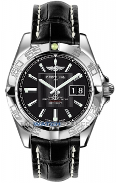Breitling Galactic 41 Mens watch, model number - a49350L2/ba07-1ct, discount price of £3,280.00 from The Watch Source