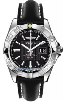 Breitling Galactic 41 Mens watch, model number - a49350L2/ba07-1ld, discount price of £3,190.00 from The Watch Source