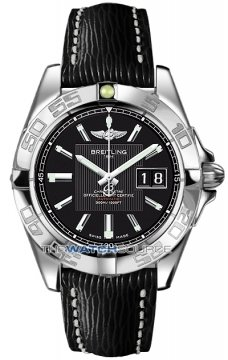Breitling Galactic 41 Mens watch, model number - a49350L2/ba07-1lts, discount price of £3,255.00 from The Watch Source