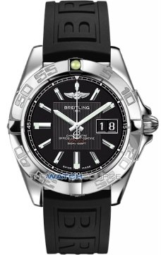 Breitling Galactic 41 Mens watch, model number - a49350L2/ba07-1rd, discount price of £3,190.00 from The Watch Source