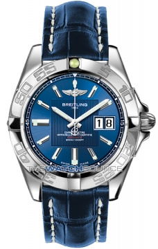 Breitling Galactic 41 Mens watch, model number - a49350L2/c806-3ct, discount price of £3,280.00 from The Watch Source