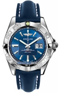 Breitling Galactic 41 Mens watch, model number - a49350L2/c806-3lt, discount price of £3,030.00 from The Watch Source
