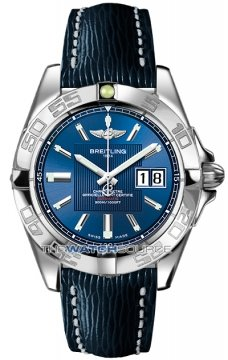 Breitling Galactic 41 Mens watch, model number - a49350L2/c806-3lts, discount price of £3,255.00 from The Watch Source