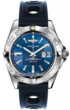 Breitling Galactic 41 Mens watch, model number - a49350L2/c806-3or, discount price of £3,190.00 from The Watch Source