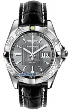 Breitling Galactic 41 Mens watch, model number - a49350L2/f549-1ct, discount price of £3,280.00 from The Watch Source