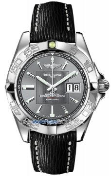 Breitling Galactic 41 Mens watch, model number - a49350L2/f549-1lts, discount price of £3,255.00 from The Watch Source