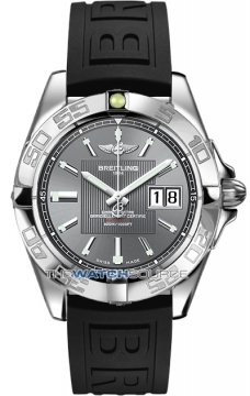 Breitling Galactic 41 Mens watch, model number - a49350L2/f549-1rd, discount price of £3,190.00 from The Watch Source