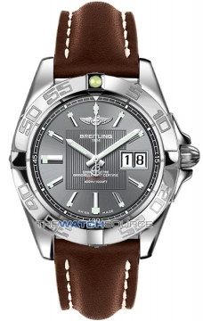Breitling Galactic 41 Mens watch, model number - a49350L2/f549-2ld, discount price of £3,180.00 from The Watch Source