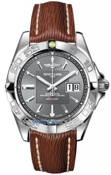 Breitling Galactic 41 Mens watch, model number - a49350L2/f549-2lts, discount price of £3,030.00 from The Watch Source