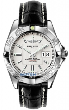 Breitling Galactic 41 Mens watch, model number - a49350L2/g699-1cd, discount price of £3,440.00 from The Watch Source