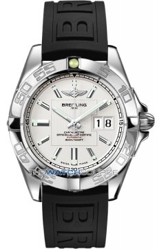Breitling Galactic 41 Mens watch, model number - a49350L2/g699-1rd, discount price of £3,408.00 from The Watch Source