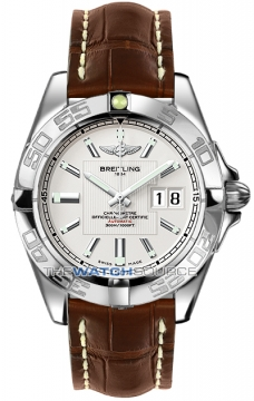 Breitling Galactic 41 Mens watch, model number - a49350L2/g699-2ct, discount price of £3,280.00 from The Watch Source