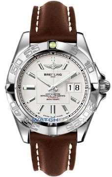 Breitling Galactic 41 Mens watch, model number - a49350L2/g699-2lt, discount price of £3,030.00 from The Watch Source