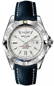Breitling Galactic 41 Mens watch, model number - a49350L2/g699-3lts, discount price of £3,255.00 from The Watch Source