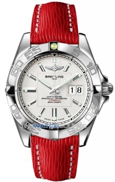 Breitling Galactic 41 Mens watch, model number - a49350L2/g699-6lts, discount price of £3,030.00 from The Watch Source