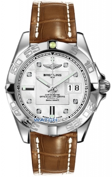 Breitling Galactic 41 Mens watch, model number - a49350L2/a702-2cd, discount price of £3,850.00 from The Watch Source