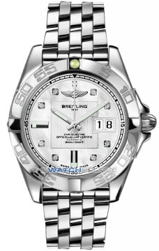 Breitling Galactic 41 Mens watch, model number - a49350L2/a702-ss, discount price of £4,632.00 from The Watch Source