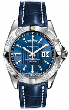 Breitling Galactic 41 Mens watch, model number - a49350L2/c806-3cd, discount price of £3,440.00 from The Watch Source
