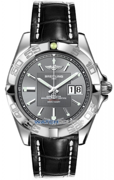 Breitling Galactic 41 Mens watch, model number - a49350L2/f549-1cd, discount price of £3,440.00 from The Watch Source