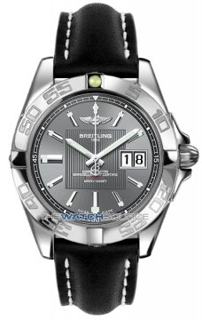 Breitling Galactic 41 Mens watch, model number - a49350L2/f549-1ld, discount price of £3,190.00 from The Watch Source