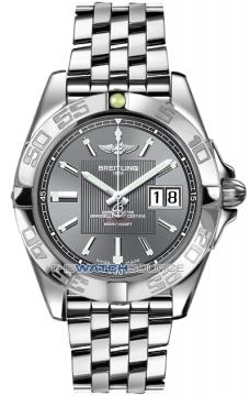 Breitling Galactic 41 Mens watch, model number - a49350L2/f549-ss, discount price of £3,800.00 from The Watch Source